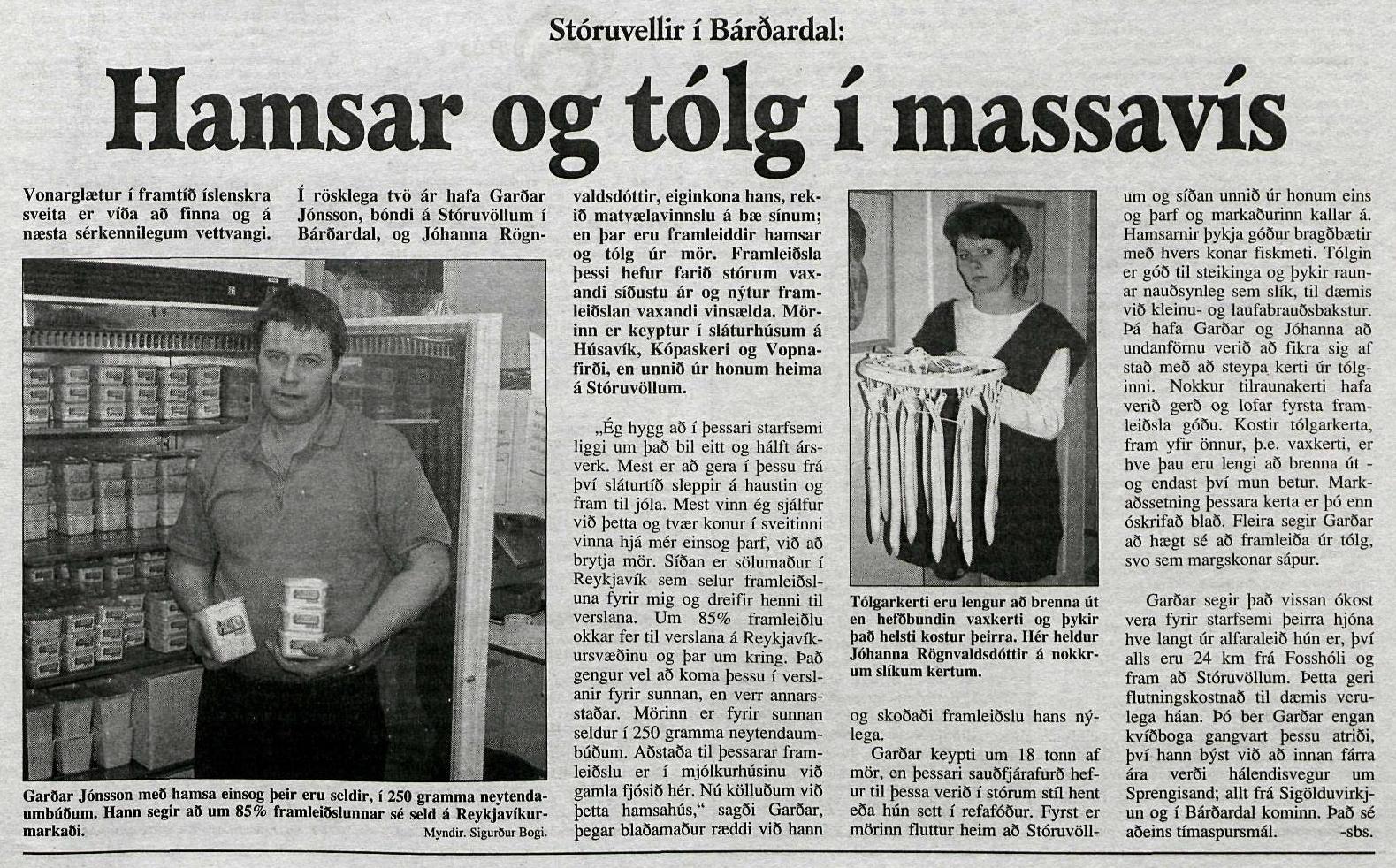 Dagur 2. des 1995